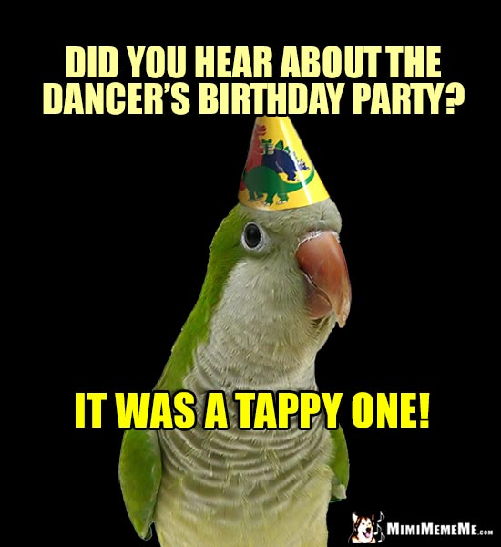 Bird-Days Are Funny! Happy Birthday Bird Humor, Hilarious