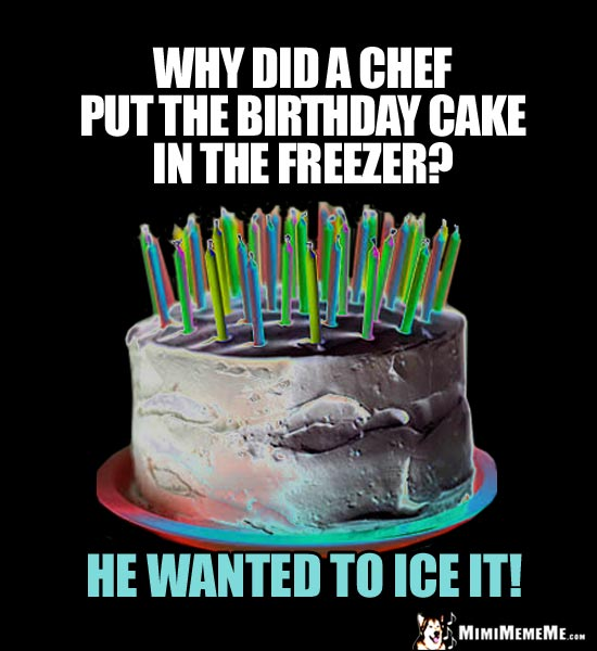 Humorous Happy Birthday Cakes, Birthday Cake Is Funny! B-Day Candles Humor. Pg 2