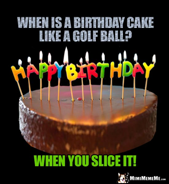 bDayGolf birthday cakes are funny! birthday cake humor, flaming hilarious b