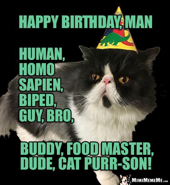 His Birthday IS Funny! Happy Birthday To Guy, Bro-Day B